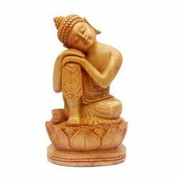 Wooden Carving Buddha Sculpture
