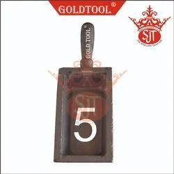 Gold Tool Ingot Mold Casting No. 5 Per Kg.