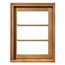 Brown Sagwan Window, Size: 3 x 2.5 feet