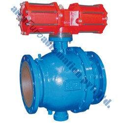 Pneumatic Trunnion Mounted Ball Valve