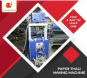 Fully Automatic Hydraulic Thali Making Machine