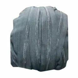 Ykk Black Metal Zipper Roll, For Garments