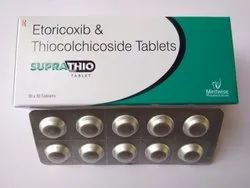 Thiocolchicoside And Etoricoxib Tablet