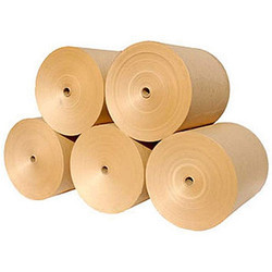 Brown Kraft Paper Roll, Packaging Type: Reel And Ream, For Packaging