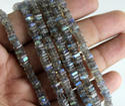 Labradorite Smooth Heishi Gemstone Beads
