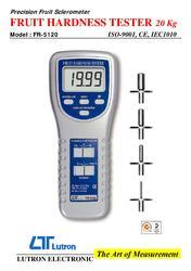Fruit Hardness Tester 20 Kg Fr-5120 Lutron Instruments