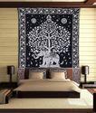 Elephant Tree Mandala Wall Hanging Hippie Tapestry