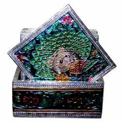 Meena Painted Coaster