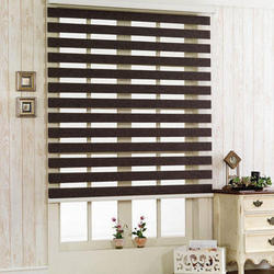100% Polyester Zebra Window Blind, Thickness: 1 - 3 mm