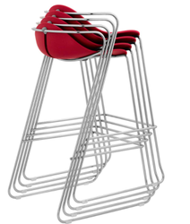 Italian High Rise Chair