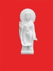 Standing Marble Buddha