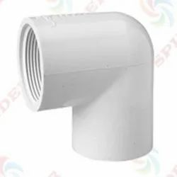 UPVC Threaded Elbow