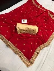 Designer Banglori Silk Indian Wear Saree