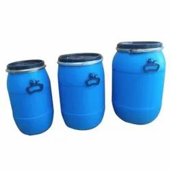 Blue 1 Plastic Full Open Top HDPE Drum, For Packaging Industry, Capacity: 20 to 65 lt