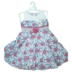 fe0795ea Casual Wear Printed Baby Girl Sleeveless Cotton Frock, Rs 250 /piece ...