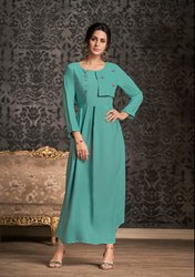 PR Fashion Launched Beautiful Designer Readymade Long Kurti