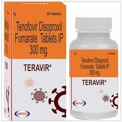 Teravir Tenofovir Disoproxil Fumarate Tablets
