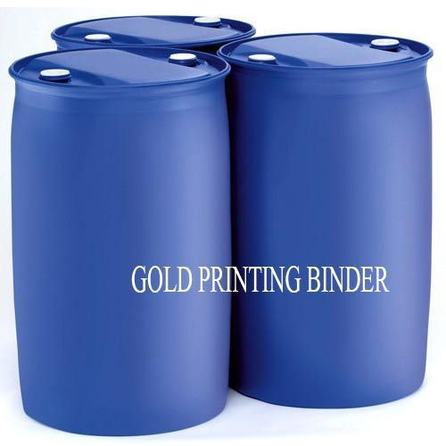 gold printing binder textile binders rishiraj chemicals private