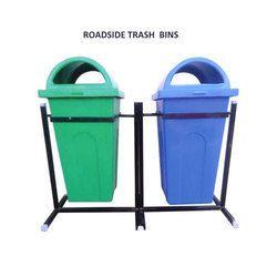 Roadside Trash Bins