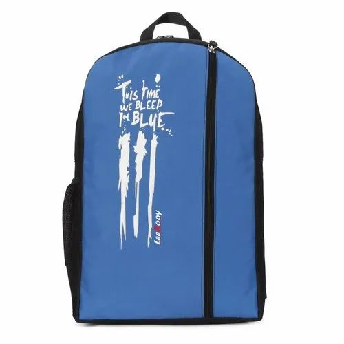 19a74a3966 Leerooy This Time Slogan Print Blue Laptop Bag at Rs 299  piece ...
