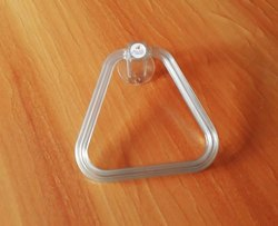 Acrylic Triangle Towel Ring