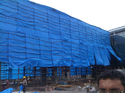 Blue Agricultural Tarpaulins, For Industrial