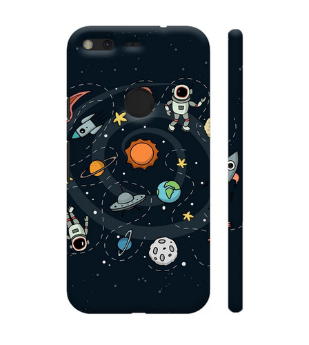 pretty nice 54bb0 476dd Colorpur Space Artwork On Google Pixel Cover