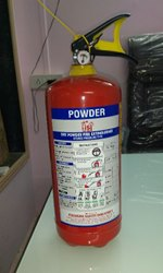 1 Year Dry Powder Base Refilling Of Fire Extinguisher Services, 4 Kg