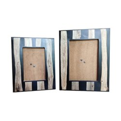 Antique Table Top Wooden Resin Picture Frame