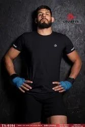 Mens Casual Round Neck Sports T-Shirt