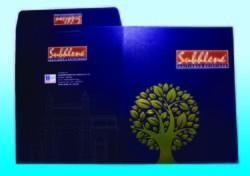 Metallic Folder for Sample