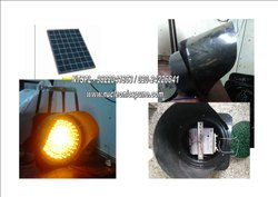 Inbuilt Battery Solar Traffic Blinker