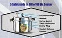 Pressure Cooker 60 Litres