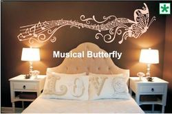 Big Stencils Musical Butterfly