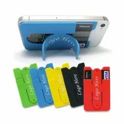 Mobile Stand With Business Credit Card Holder