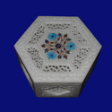 Natural Marble  Jewelry Box