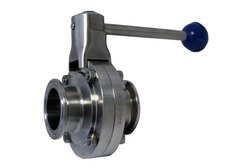 Stainless Steel TC End Butterfly Valve