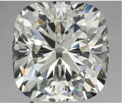5.12 Ct Gia Certified Cushion Cut Natural Diamond E VVS2