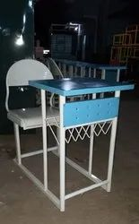 Mild Steel Table With Chair