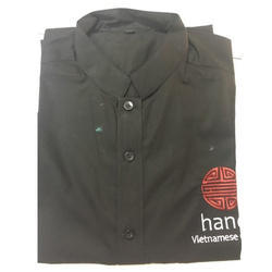 Cotton Hotel Service Shirt, Size: S to XXL