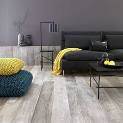 Frosty Laminated Wooden Flooring