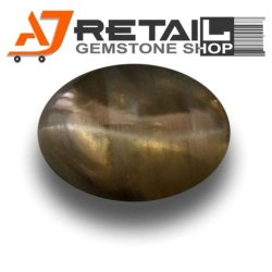 Ajretail AAA Best Price Natural Chrysoberyl Cats Eye Unheated Gemstone