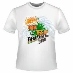 Men'S Printed BJP T Shirt