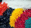 Coloured Plastic Granules