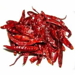 A Grade Without Stem Guntur Red Chilli