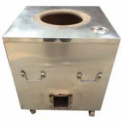 Portable Gas And Charcoal SS Tandoor