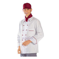 White Polyester Corporate Chef Coats