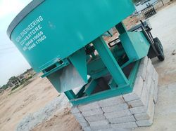 ms Roller Concrete Pan Mixer Machine, For Construction, Output Capacity: 480 Liters