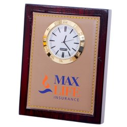 Promotional Wooden Table Clock