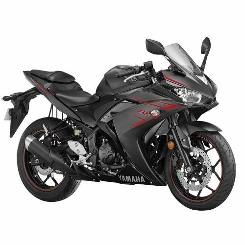 Yamaha Yzf R3 321 Cc Magma Black Bike